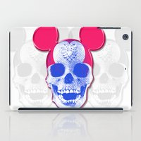 Mickey Mouse Skullface (aka Norman Bates' Dad) iPad Case