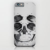 the 4i skull stencil art 1 iPhone 6 Slim Case