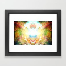 Consciousness Awakening Framed Art Print