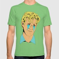 Crying Icon #1 - Dawson Leery Mens Fitted Tee Grass SMALL