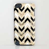 iPhone & iPod Case featuring Black, White & Gold Glit… by Tangerine-Tane