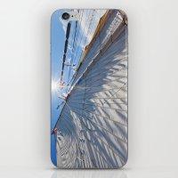 White Sails And Sunshine iPhone & iPod Skin