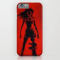 iPhone & iPod Case featuring Cherry Darling by Rouble Rust