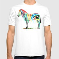 Fresh Paint Mens Fitted Tee White SMALL