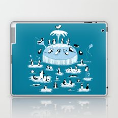 Beach Whale Laptop & iPad Skin