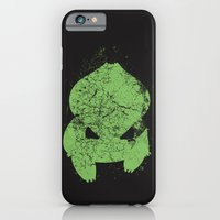 iPhone Cases featuring Bulbasaur by Head Glitch