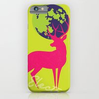 Electro deer iPhone 6 Slim Case