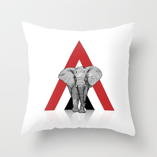 Because I Can't Forget - WHITE Throw Pillow