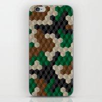 Cubouflage iPhone & iPod Skin