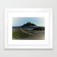 St Michaels Mount Framed Art Print