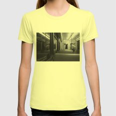 underground Womens Fitted Tee Lemon SMALL