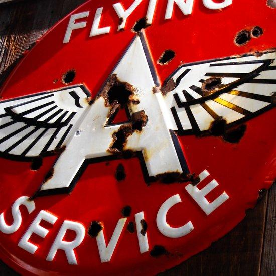Flying A Service Art Print