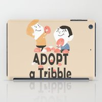Adopt a Tribble iPad Case