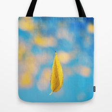 Yellow & blue Tote Bag