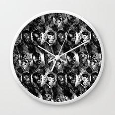 WRESTLING Wall Clock