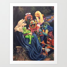 Song Of The Electric Mayhem Art Print