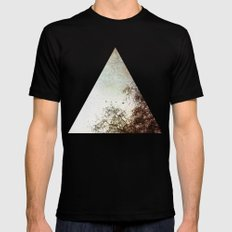 Look Up Mens Fitted Tee Black SMALL