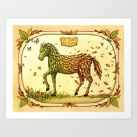 The March Of Autumn Art Print