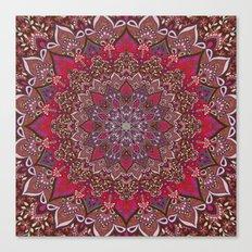 Farah Red Canvas Print