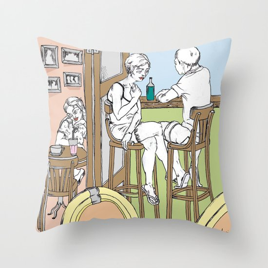 noon Throw Pillow