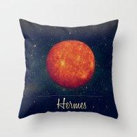 Hermes / Mercure Throw Pillow