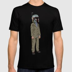 Boba Steez Mens Fitted Tee SMALL Black