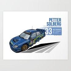 Petter Sorlberg - 2003 Australia Art Print