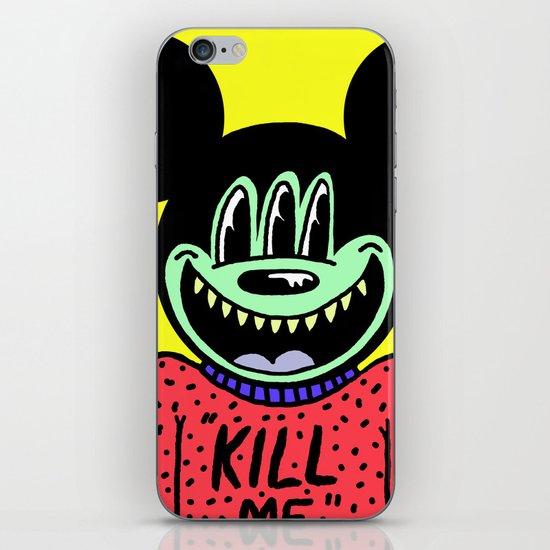 """KILL ME"".  (Mickeyes). iPhone & iPod Skin"