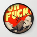 Oh F*#k ! Wall Clock