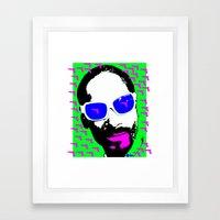 Snoop. Framed Art Print