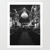 This Is A Classy Town Art Print