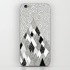 The Mountain Covered in Trees iPhone & iPod Skin