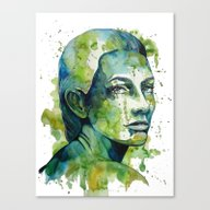 Paulina By Carographic Canvas Print