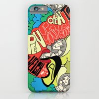 iPhone & iPod Case featuring Animal Collective by monasita
