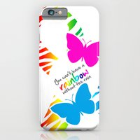 You can't have a Rainbow without the Rain - Awareness Ribbon iPhone 6 Slim Case