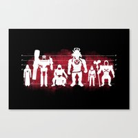 Plastic Villains  Canvas Print