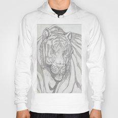 large tiger Hoody