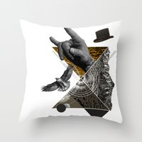 Like a nature Throw Pillow