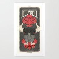 Jellyroll #3 Art Print