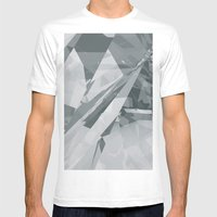 Ice Cracks #2 Mens Fitted Tee White SMALL
