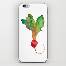 red beet iPhone & iPod Skin