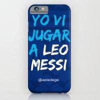 YO VI JUGAR A LEO MESSI (ARG) iPhone 6 Slim Case