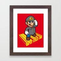 SUPER STALIN BROS. Framed Art Print