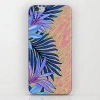 A Run Through the Jungle Blues iPhone & iPod Skin