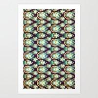 Jewels Pattern - For Iph… Art Print