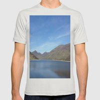 Silent Valley Mens Fitted Tee Silver SMALL
