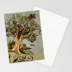 Fall Tree Bloom Stationery Cards