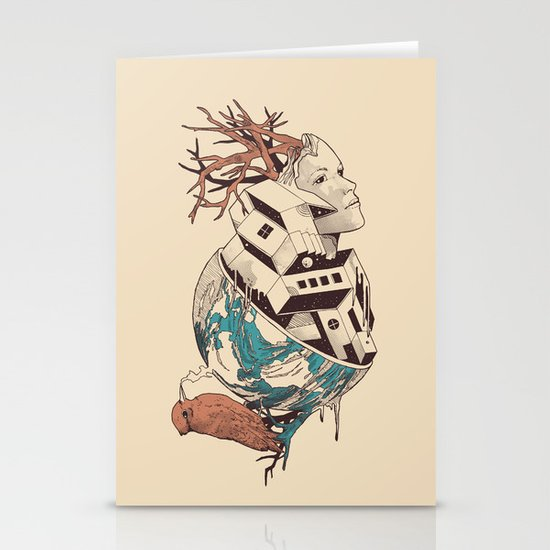 Lost Stationery Card