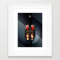 SOLE FOR SALE Framed Art Print