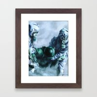 Give me Something to Believe in Framed Art Print